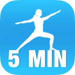 5 Minute Yoga app for iphone 7