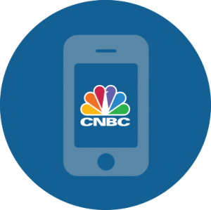 CNBC Business News and Finance app fr iPhone 7