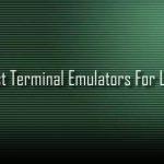 Best Linux Terminals