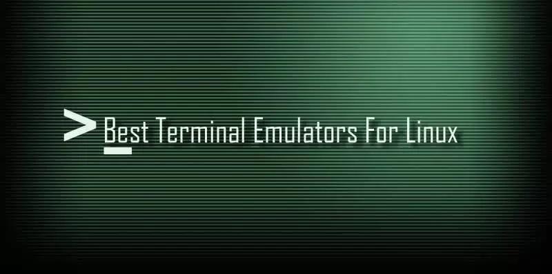 Best Linux Terminal 2017