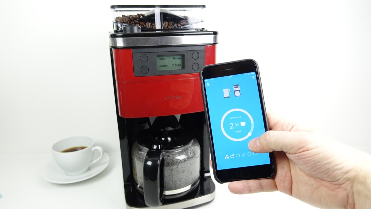 Smart Home Coffee Maker : Best Smart WiFi Coffee Makers 2017 Best Reviews 2017